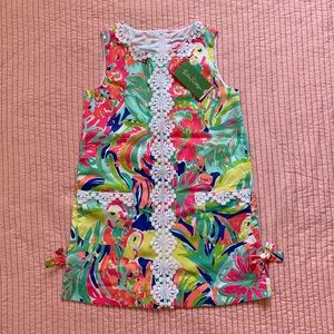 Lilly Pulitzer Girls Classic Shift in Casa Banana